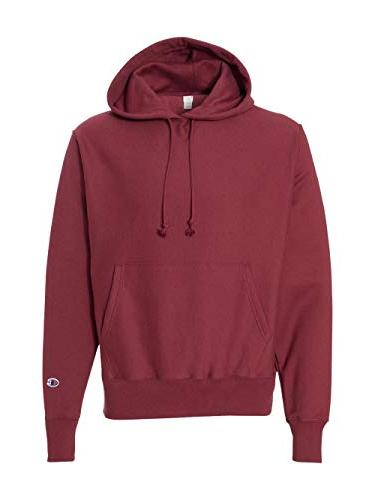 s101 reverse weave hooded pullover