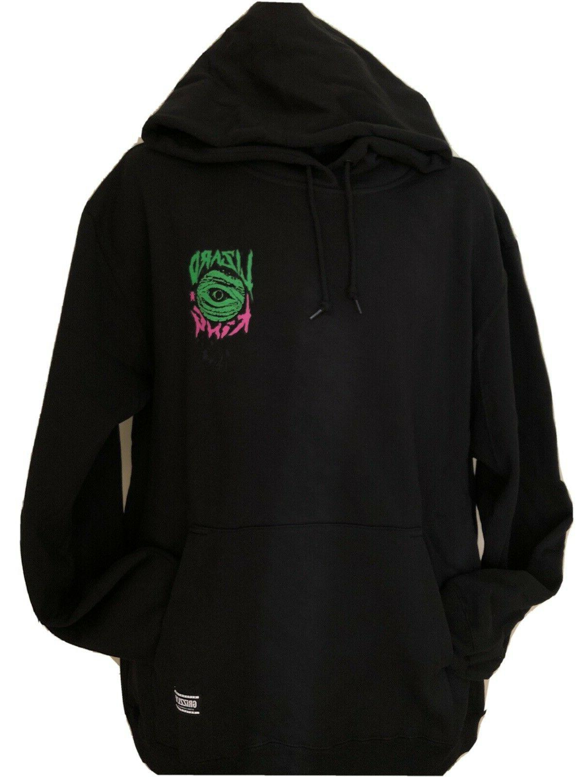 Grizzly Griptape Pullover Hoodie Lizard King