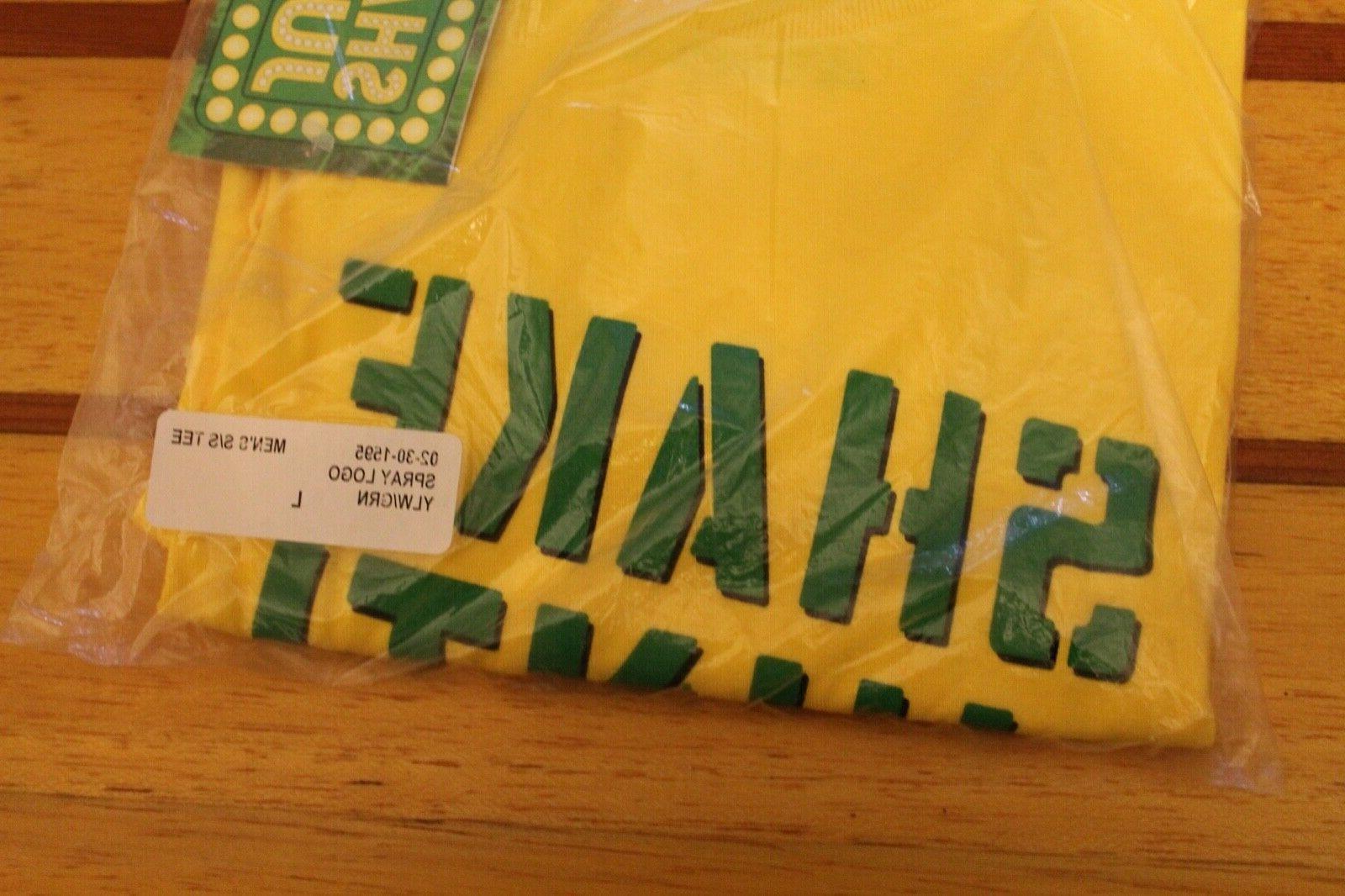 SHAKE Grip Tape Skateboarding Yellow T-Shirt