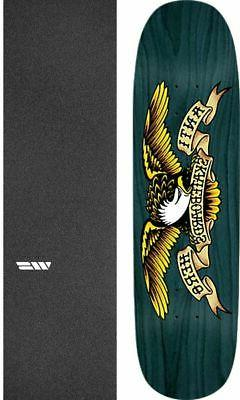 "Anti Hero Skateboards Shaped Eagle Overspray 8.75"" Skateboar"