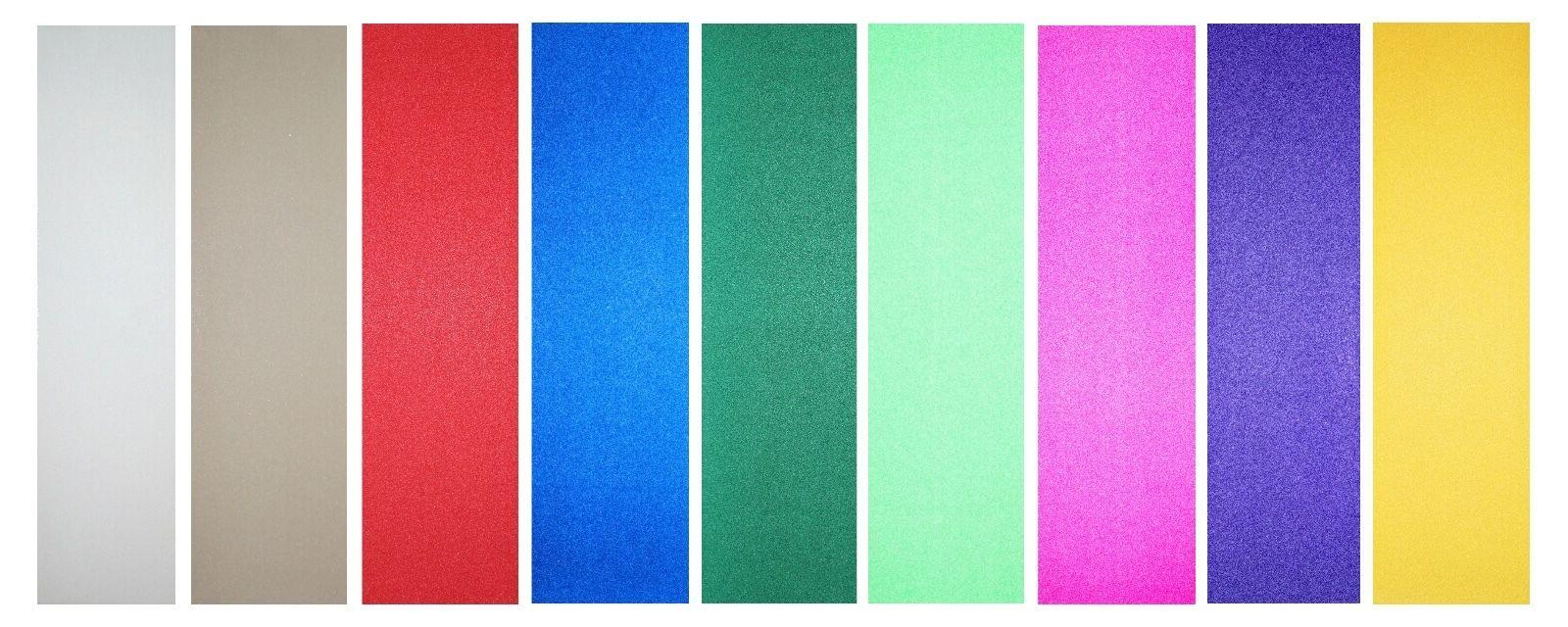skateboard colored grip tape 9 x 33