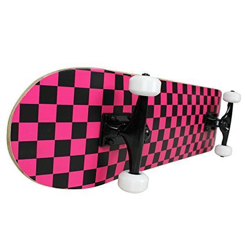 PRO CHECKER PATTERN Black/Pink