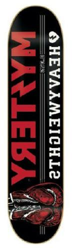 MYSTERY Skateboard Deck HEAVYWEIGHTS 8.375 with JESSUP GRIPT