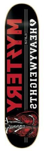 MYSTERY Skateboard Deck HEAVYWEIGHTS 8.375 with JESSUP GRIPT