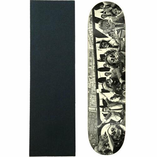 skateboard deck they panic black 8 5