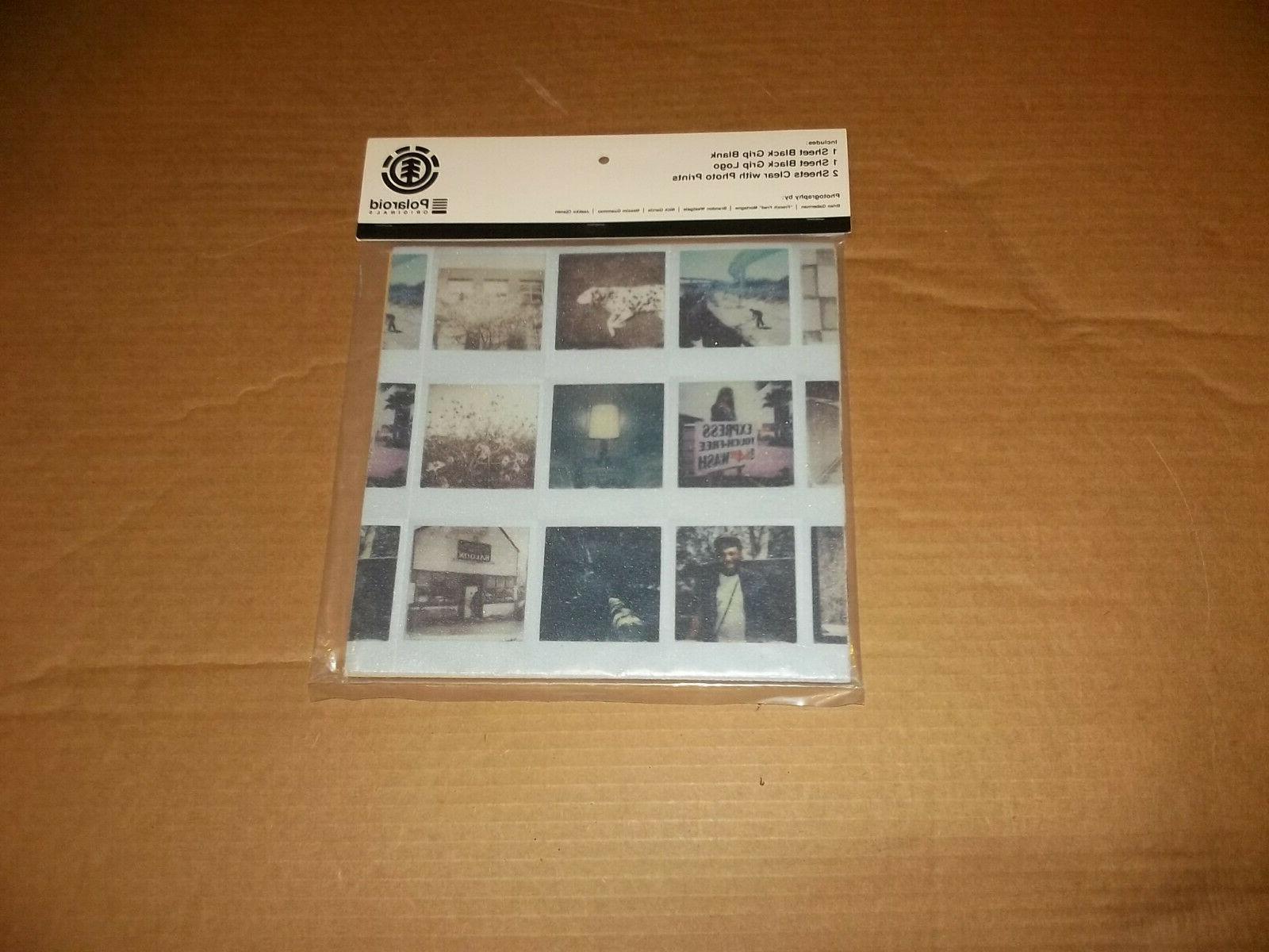 Element New In Wild Polaroid Griptape