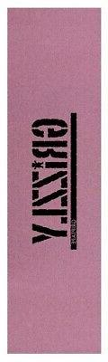 Grizzly Skateboard Grip Tape Sheet 9 x 33 Stamp Tinted Pink