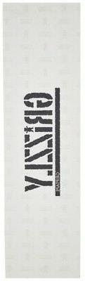 Grizzly Skateboard Grip Tape Sheet 9 x 33 Stamp Clear