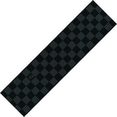 skateboard grip tape sheet black checkers pro