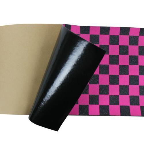 """Black Skateboard Tape Sheet 9"""" x 33"""" Griptape"""