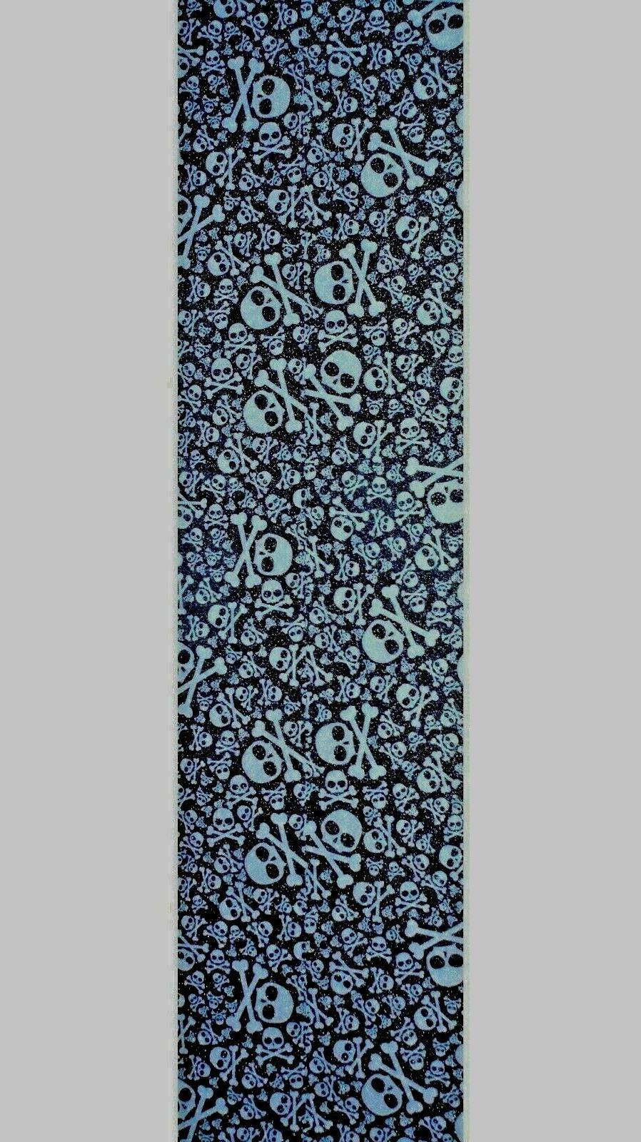 skateboard grip tape skulls 9 x 33