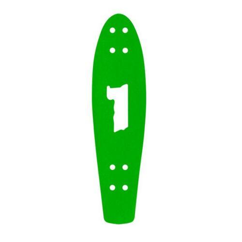 skateboard griptape green