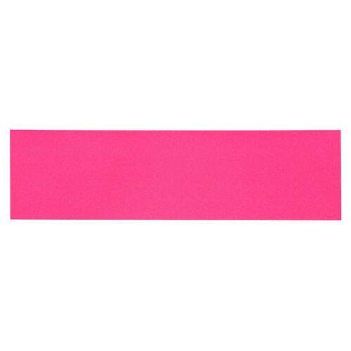 skateboard griptape neon pink 9 x 33