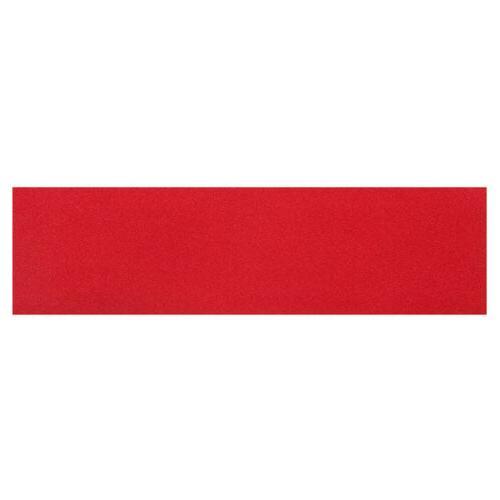 skateboard griptape panic red sheet