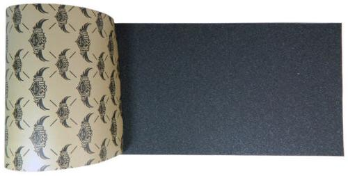skateboard griptape sheet black 9 x 33