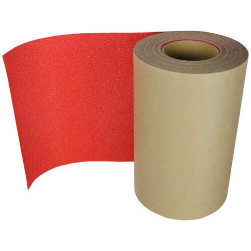 SKATEBOARD LONGBOARD Grip Tape ROLL 10 in x 60' RED Griptape