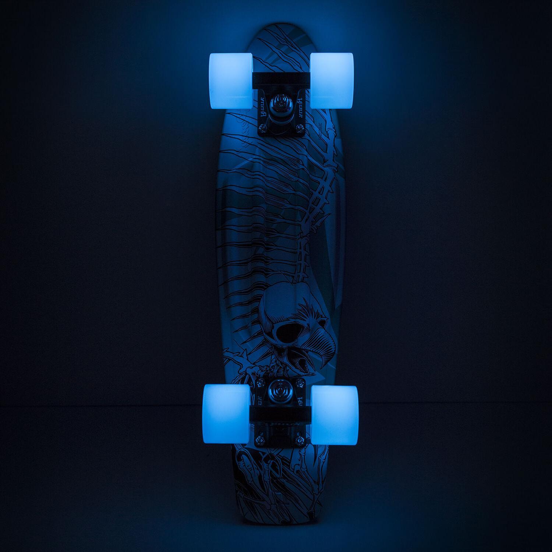 skateboard tony hawk skull plastic