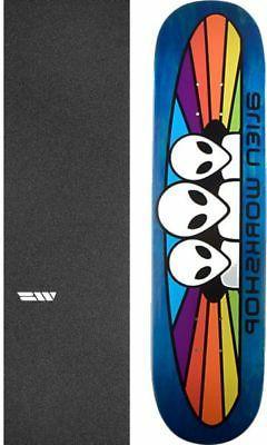 """Alien Workshop  Spectrum Small 7.87"""" Skateboard Deck + gript"""