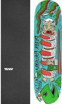 """All I Need Skateboards Sushi 8.1"""" Skateboard Deck + griptape"""