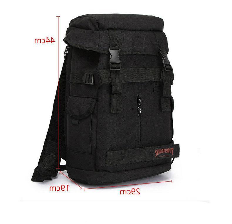 THRASHER SKATEBOARD GRIP TAPE Backpack School Bag TOP OPENING