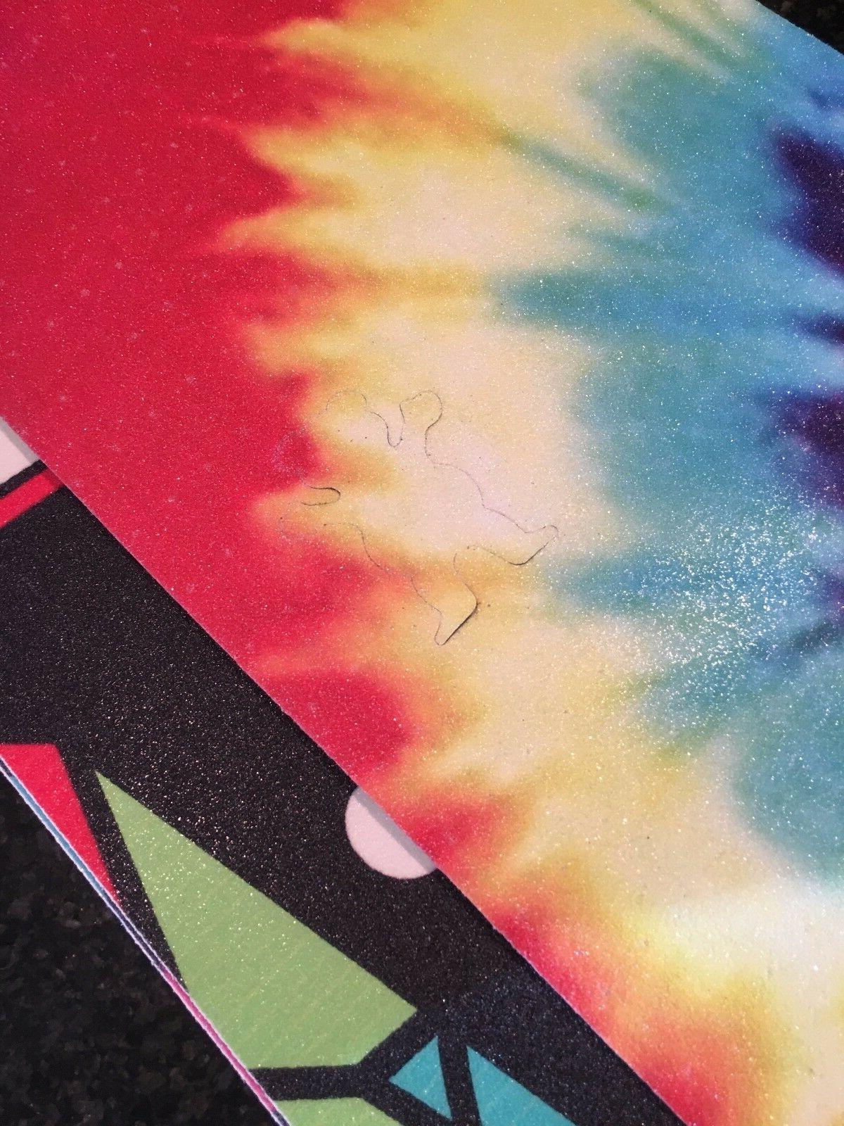 Tie Dye Grip Tape - Cutout 85cm