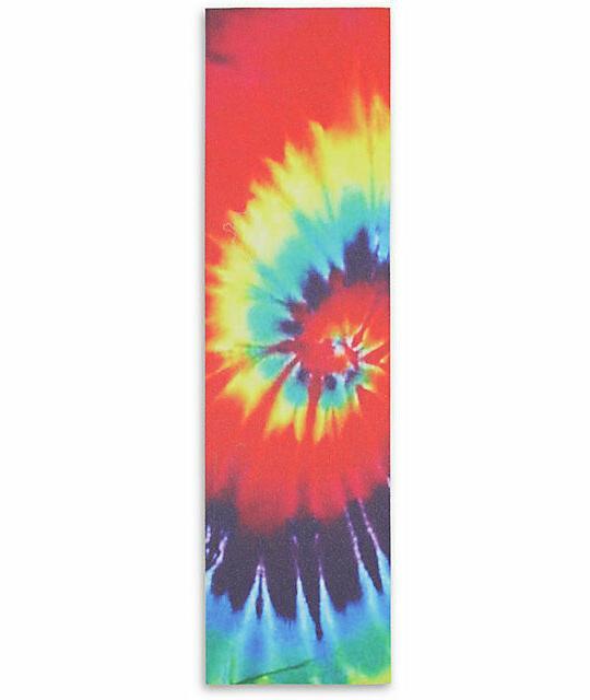 tie dye skateboard grip tape 33x9