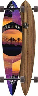timeless series complete skateboard w lucid grip