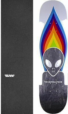 """Alien Workshop  Torch 8"""" Skateboard Deck + griptape"""