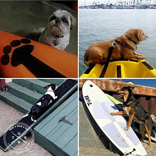 Punt Grip Mat - & Trimmable Sheet EVA Pad with 3M Adhesive. Boat Decks, Paddle Skimboards & More