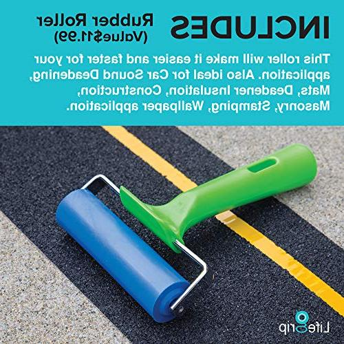 Best Anti Slip Traction Tape + Roller Inch x 30 Best Friction, Abrasive Step, Indoor,