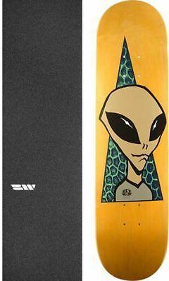 """Alien Workshop  Visitor 8.25"""" Skateboard Deck + griptape"""