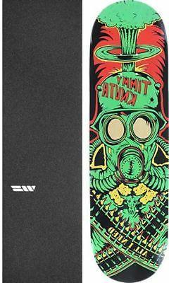 "All I Need Skateboards War Machine 8.3"" Skateboard Deck + gr"