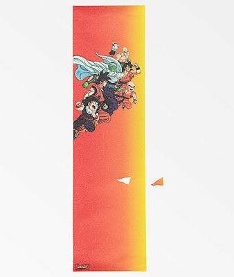 "Primitive x Dragon Ball Z Gradient Skateboard Grip Tape 9"" x"