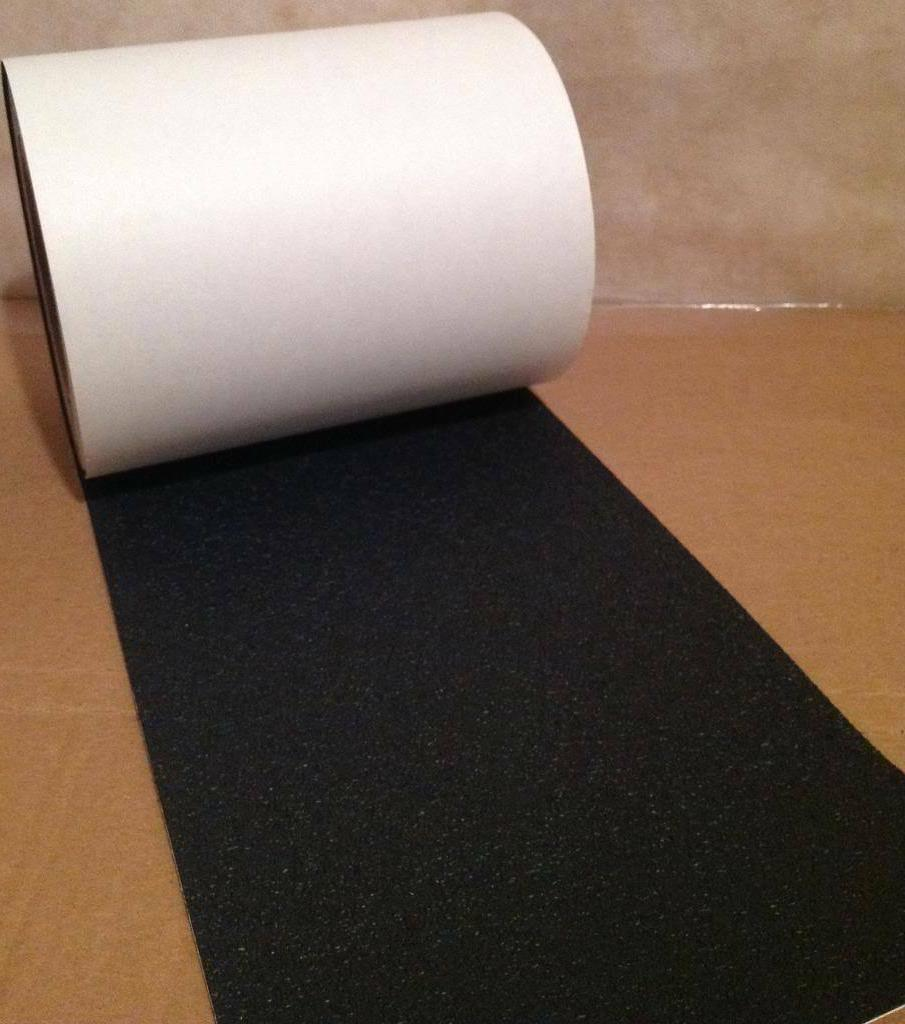 """4"""" 12' Rubberized Tape Non Skid Stair Step Grip Boat"""