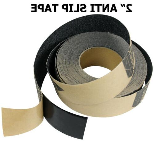 "2"" x 10' BLACK Roll Safety Non Skid Tape Anti Slip Tape Stic"