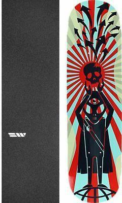 """Alien Workshop  Zen 8"""" Skateboard Deck + griptape"""