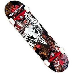 Punisher Skateboards Legends Complete 31-Inch Skateboard wit