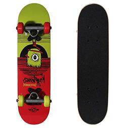 Kryptonics Locker Board 22 Inch Complete Skateboard - Big-Ey