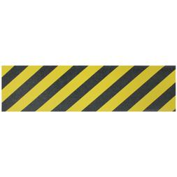 Longboard Grip tape Sheet 10 inx48 in YELLOW SAFETY STRIPE S
