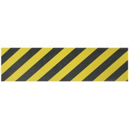 Longboard Grip tape Sheet 10 inx48 in YELLOW SAFETY STRIPE S