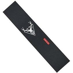 "ALLURE Longboard Skateboard Grip Tape Sheet 11"" x 48"" Black"