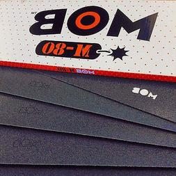 Mob M-80 Die Cut Grip Black 9x33 - Single Sheet