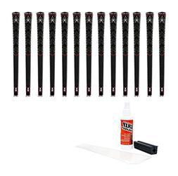 Black Widow Maker Standard Golf Grip Kit with Tape, solvent,