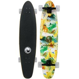 PARADISE MAPLE Longboard Complete GOOD TIMES ROLL Kicktail 9