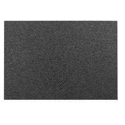 material sheet 5 x 7 inch black
