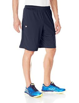 Champion Men's Double Dry 10 Inch Short with Pockets, Navy,
