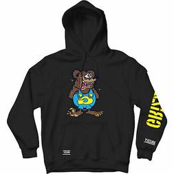 Grizzly Griptape Men's Grizzly The Bear Long Sleeve Pullover
