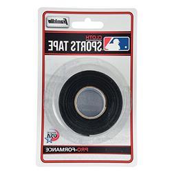 Franklin Sports MLB Black Bat Tape - 10 Yards