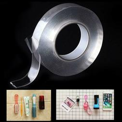 Multi-function 2Two sided Adhesive Nano Tape Washable Remova