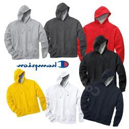 New Authentic Champion Men's Powerblend Fleece Pullover Hood
